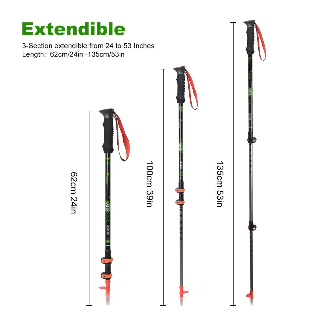 Mountaintop Trekking Poles Full Set