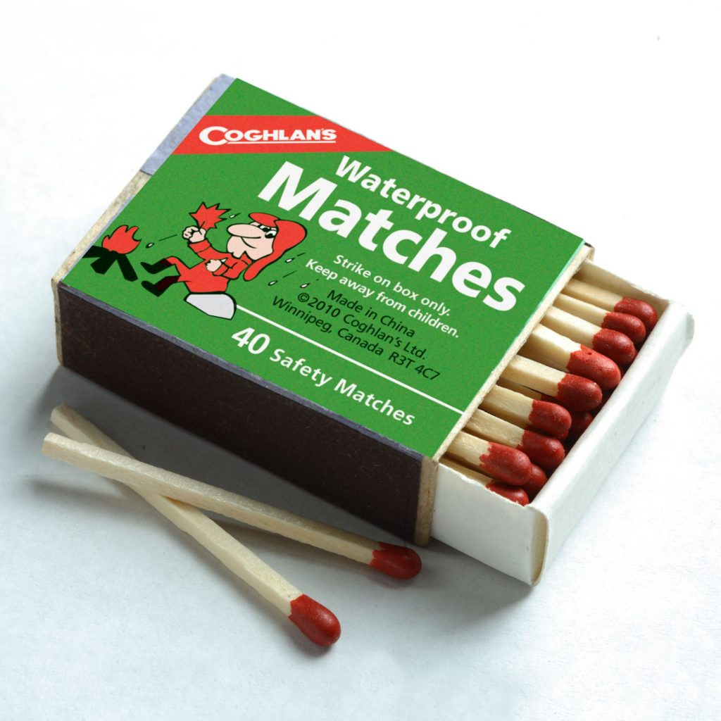 Water Proof Matches - Hiking