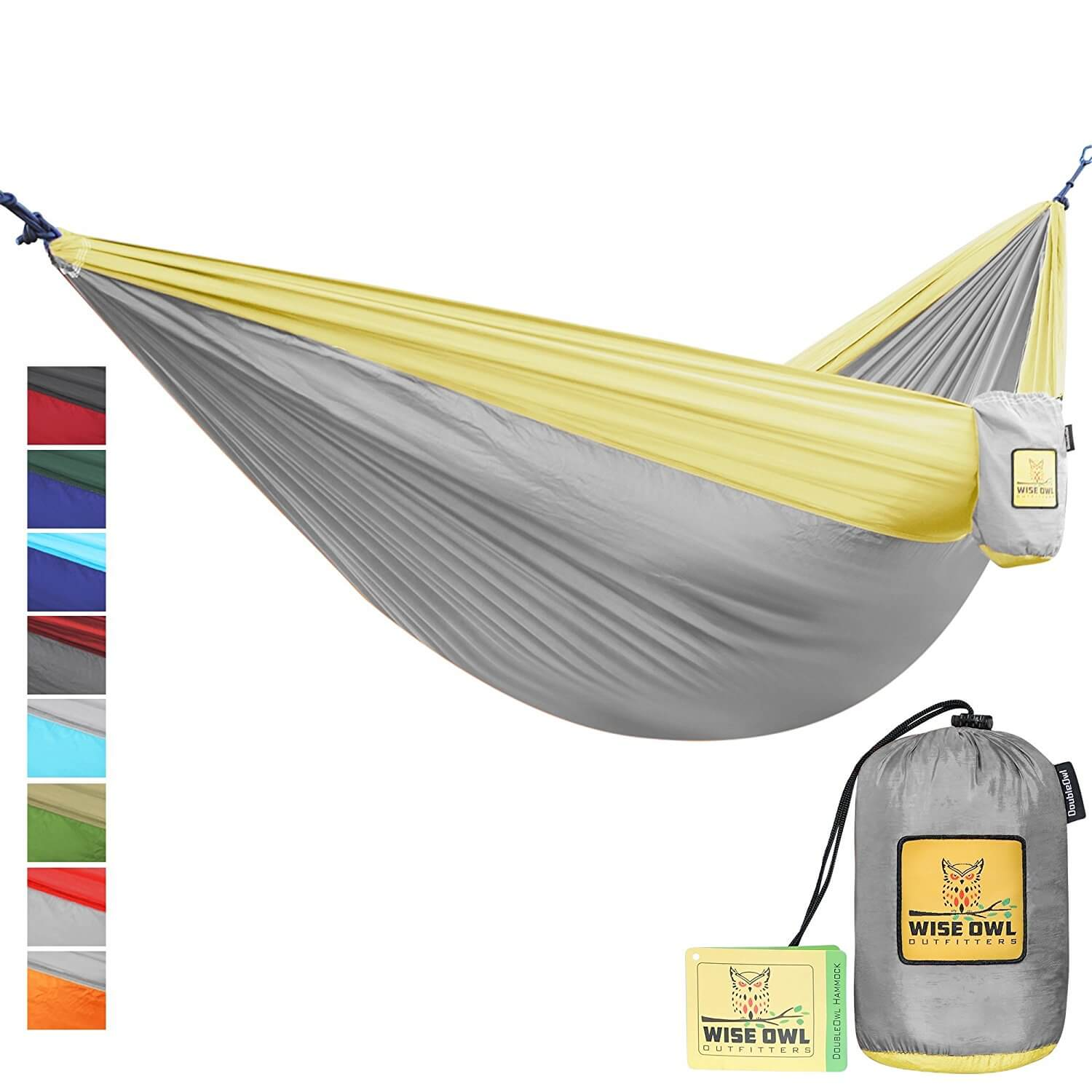Wise Owl Outfitters Single Amp Double Camping Hammock Review